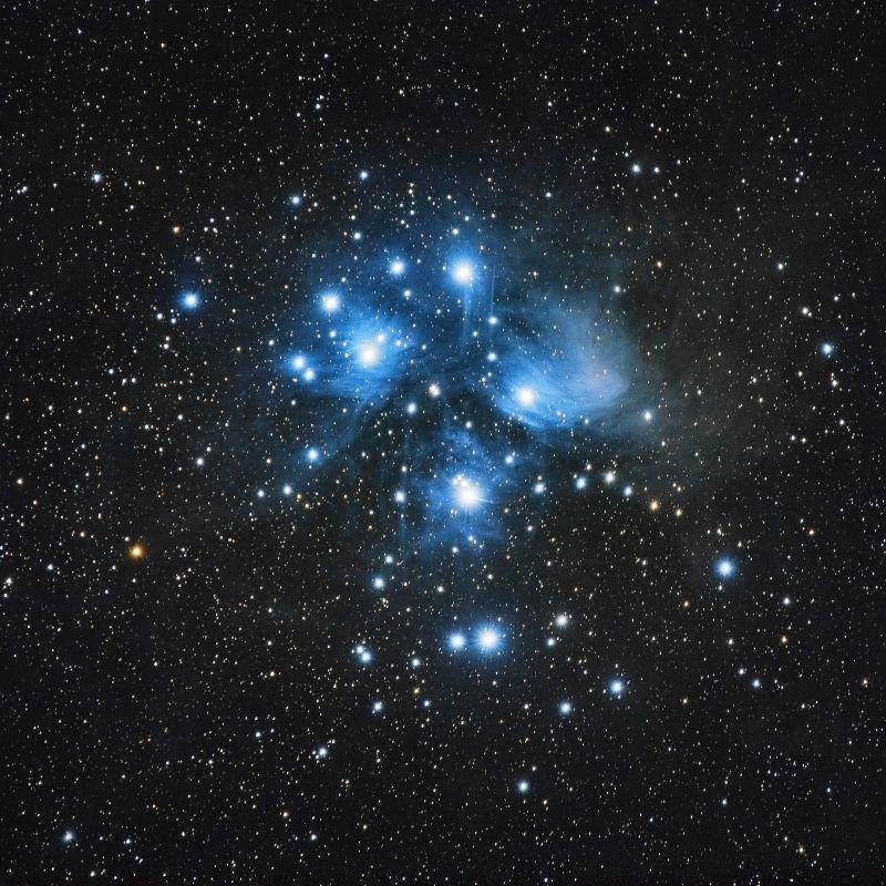 Matariki pleiades cluster